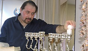 Light of the Hanukkah in the family of ICF