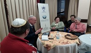 «Tea with the Rabbi»: on the meanings of Purim with the Chairman of the Kyiv city Jewish community Tuvia Shengait in the Kiev Hesed